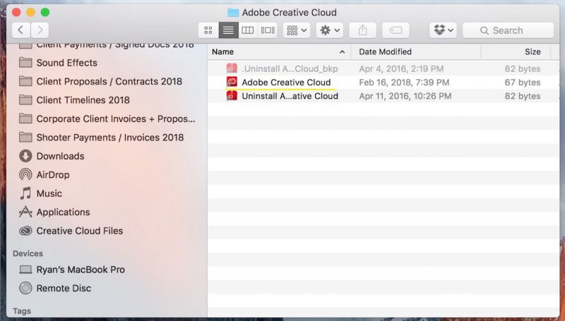 open creative cloud app manager to install an older version of your cc app