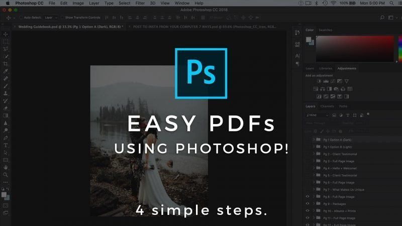 how to make a pdf with photoshop Archives - Signature Edits