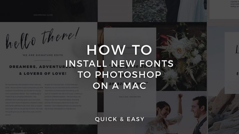 How to install fonts photoshop cs6 archives signature edits edit learn to download and install new fonts on mac and to add fonts for photoshop cc ccuart Choice Image