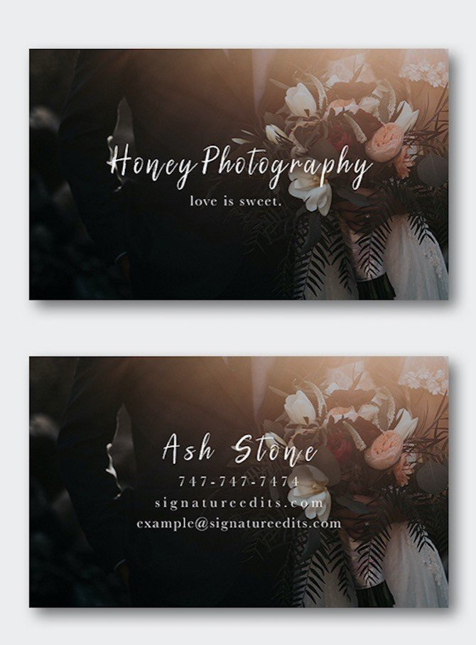 Free photographer business card templates signature edits edit free photographer business card template psd download cheaphphosting Gallery