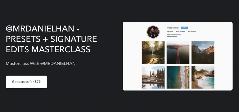 Starting a photography business - @mrdanielhan masterclass