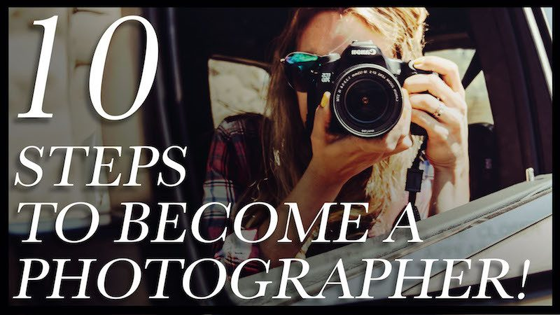 learn how to become a professional photographer with this online guide