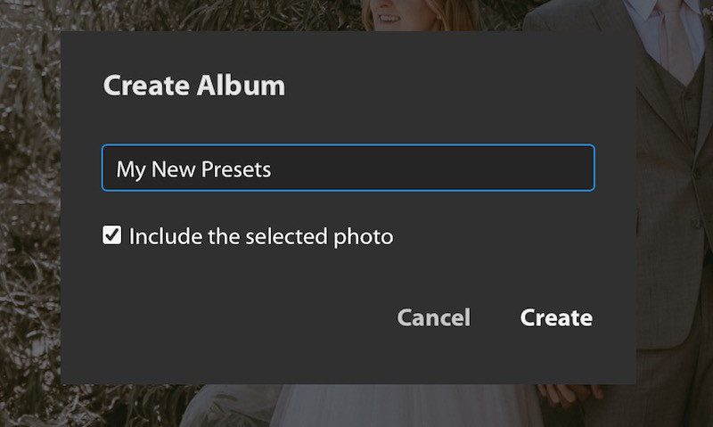 how to add lightroom presets to your smart phone step 8 contd
