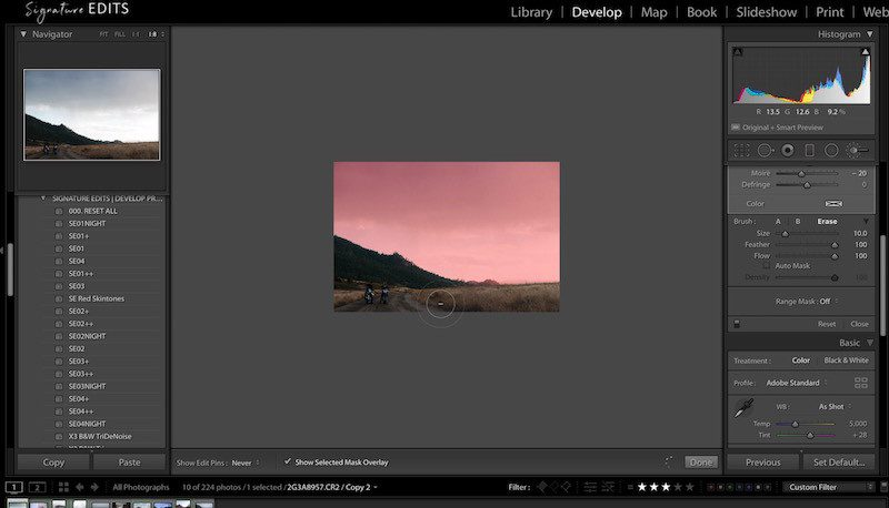 Lightroom Blown Out Sky Fix! (EASY!) Saving Blown Out Sky